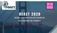 CE Dept hosts national conference REACT 2020