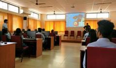 A career awareness talk by Mr. Ramesh Chandra