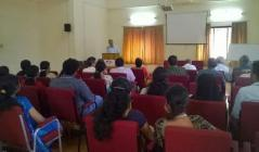Interactive Talk by Dr. Devdas menon