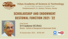 Scholarship and endowment prize distribution function 2021