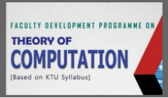 6 Day FDP on 'Theory of Computation'
