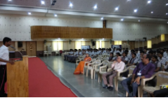 PE Dept organizes an interactive session with a distinguished alumnus