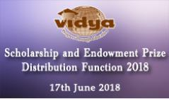 Scholarship and Endowment Distribution Function 2018