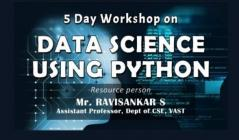 CE Dept conducts five-day workshop on Data Science as part of CLEP