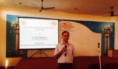 Session by Dr. Devdas menon