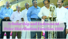 Scholarship and Endowment Distribution Function 2019