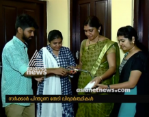 CSE student's project on Asianet News Channel