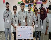 Students wins first prize in AICTE SIH 2019