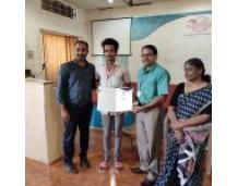 Jenny Lawrence and Pranav Prathapan to NACTET