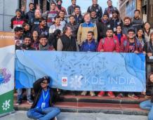 CSE student participates in KDE India Conf, Delhi