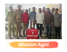 Students present Mission Agni at Fire Academy