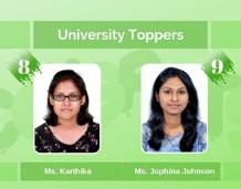 Two PE students of Vidya among APJAKTU toppers