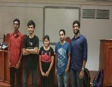 Student wins first prize in Drishti tech-fest event