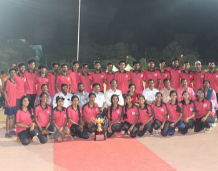 Another golden feather to the crown of Vidya Sports