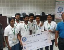 2nd Prize in Smart India Hackathon-2018